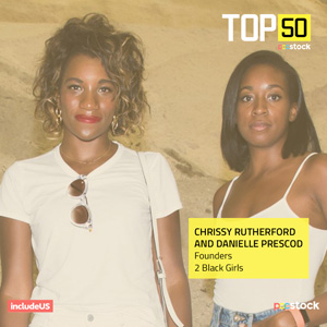 Chrissy Rutherford and Danielle Prescod